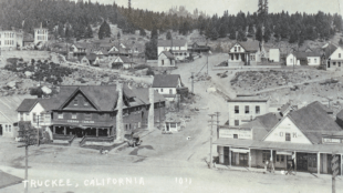 downtown truckee history walking tour, map, guide